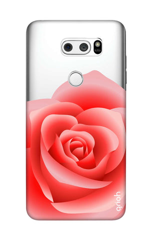 Peach Rose LG V30 Cases & Covers Online