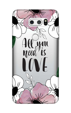 All You Need is Love LG V30 Cases & Covers Online