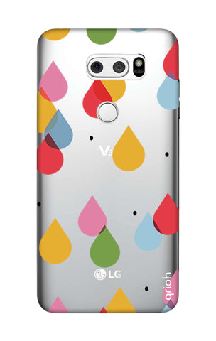 Colourful Drops LG V30 Cases & Covers Online