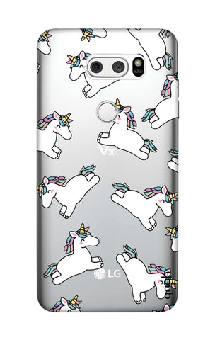 Jumping Unicorns LG V30 Cases & Covers Online