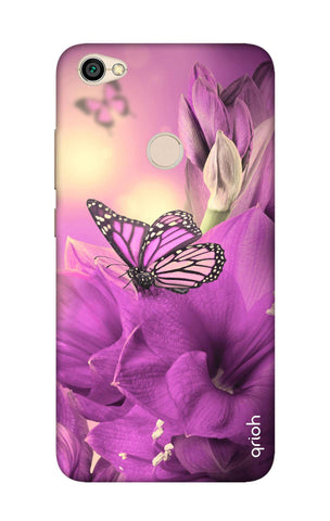 Purple Butterfly Xiaomi RedMi Note 5A Cases & Covers Online