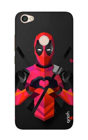 Valentine Deadpool Xiaomi RedMi Note 5A Cases & Covers Online