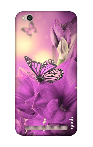 Purple Butterfly Xiaomi RedMi 5A Cases & Covers Online