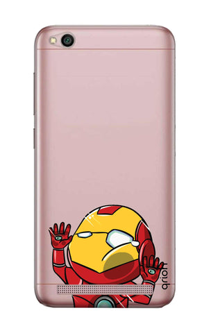 Iron Man Wall Bump Xiaomi RedMi 5A Cases & Covers Online