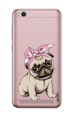 Pink Puggy Xiaomi RedMi 5A Cases & Covers Online