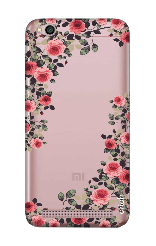 best website b7ab3 251ed Floral French Case for Xiaomi RedMi 5A