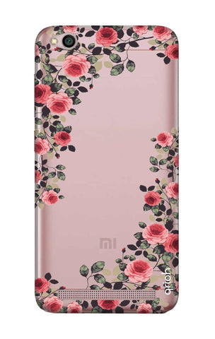 best website b50e0 5395b Floral French Case for Xiaomi RedMi 5A