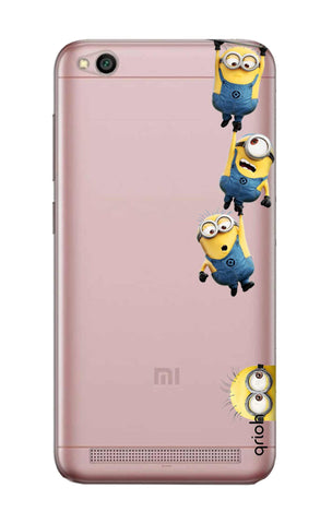 Falling Minions Xiaomi RedMi 5A Cases & Covers Online