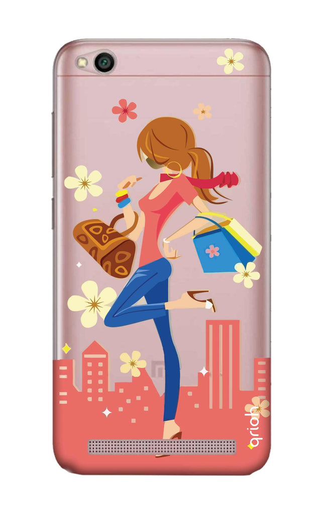 huge discount d40cc 02c84 Shopping Girl Case for Xiaomi RedMi 5A