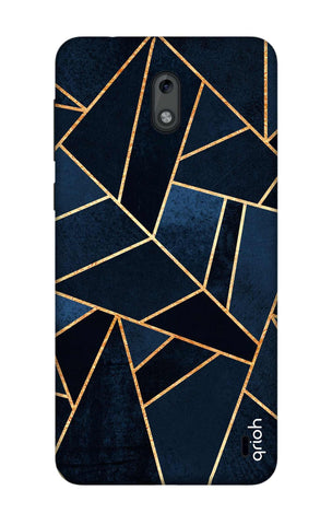 Abstract Navy Nokia 2 Cases & Covers Online