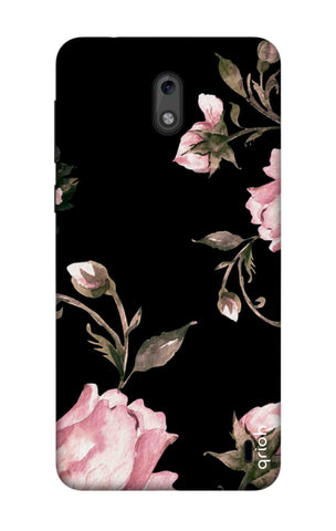 Pink Roses On Black Nokia 2 Cases & Covers Online
