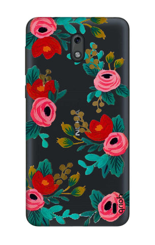 Red Floral Nokia 2 Cases & Covers Online