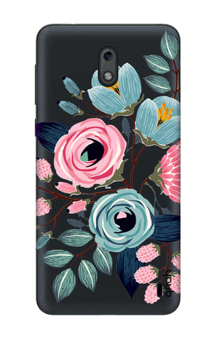 Pink And Blue Floral Nokia 2 Cases & Covers Online
