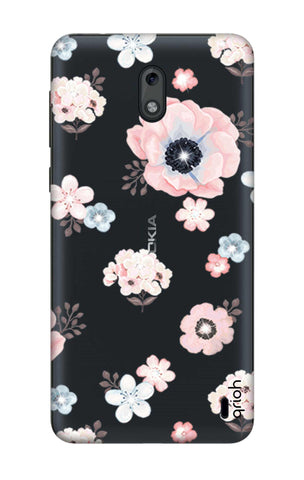 Beautiful White Floral Nokia 2 Cases & Covers Online