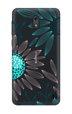 Pink And Blue Petals Nokia 2 Cases & Covers Online