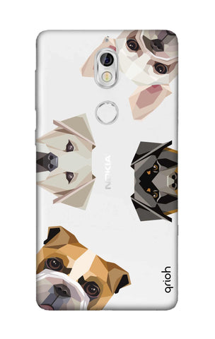 Geometric Dogs Nokia 7 Cases & Covers Online