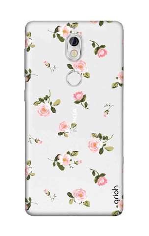 Pink Rose All Over Nokia 7 Cases & Covers Online