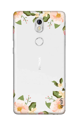 Flower In Corner Nokia 7 Cases & Covers Online