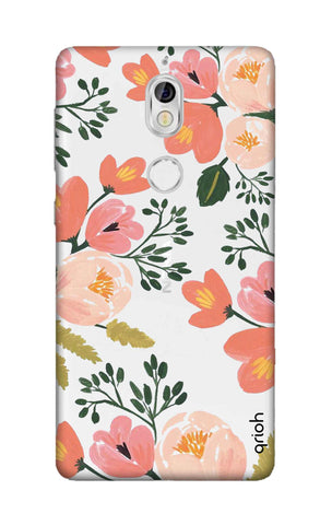 Painted Flora Nokia 7 Cases & Covers Online
