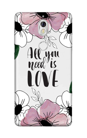 All You Need is Love Nokia 7 Cases & Covers Online
