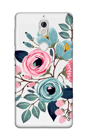 Pink And Blue Floral Nokia 7 Cases & Covers Online