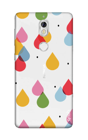 Colourful Drops Nokia 7 Cases & Covers Online