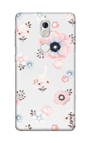 Beautiful White Floral Nokia 7 Cases & Covers Online