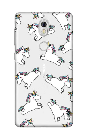 Jumping Unicorns Nokia 7 Cases & Covers Online
