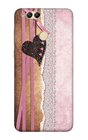 Heart in Pink Lace Honor 7X Cases & Covers Online