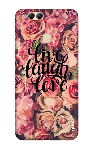 Floral Live, Laugh, Love Honor 7X Cases & Covers Online