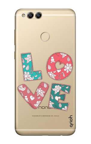Love Text Honor 7X Cases & Covers Online
