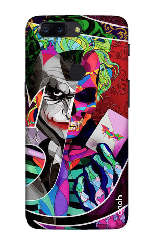Color Pop Joker OnePlus 5T Cases & Covers Online