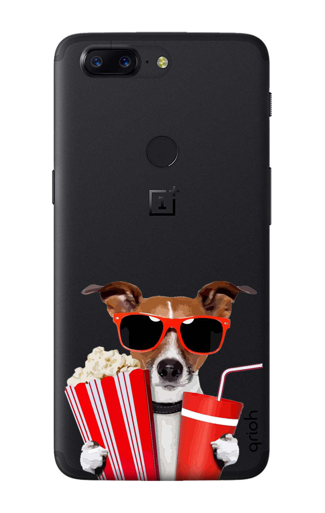 best loved 9214d bb52f Dog Watching 3D Movie Case for OnePlus 5T