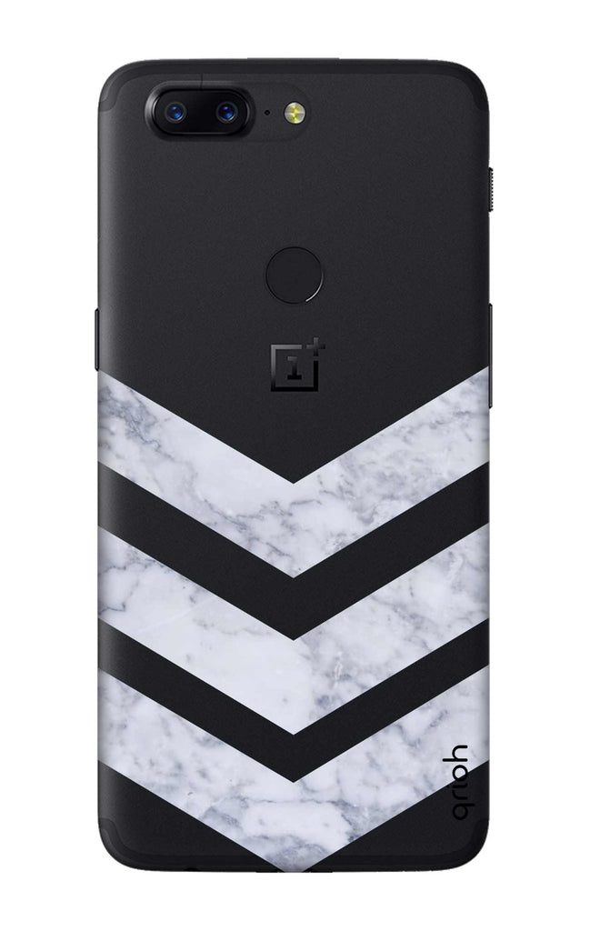 online store 0432d 968dc Marble Chevron Case for OnePlus 5T