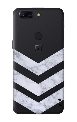 Marble Chevron OnePlus 5T Cases & Covers Online