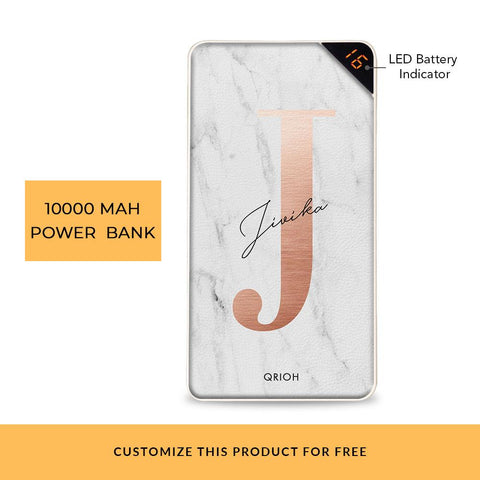 Bronze Marble Customized Power Bank