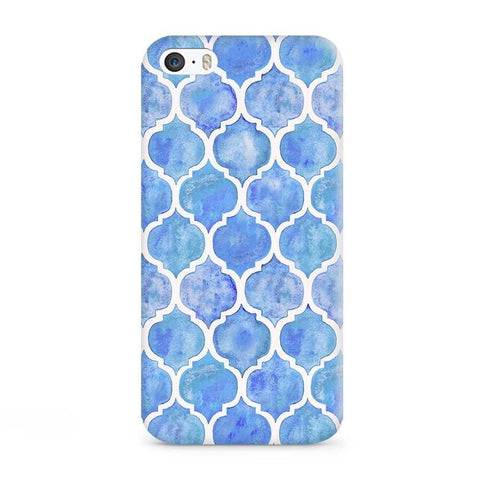 Aqua Vintage Case for iPhone 5S