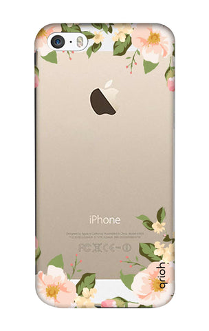 Flower In Corner iPhone 5 Cases & Covers Online