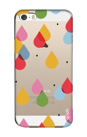 Colourful Drops iPhone 5 Cases & Covers Online