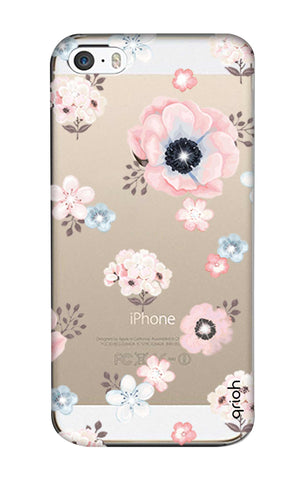 Beautiful White Floral iPhone 5 Cases & Covers Online