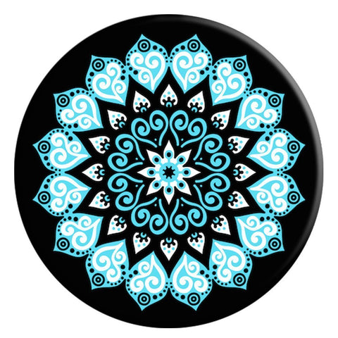 Mandala Phone Grip with Mount