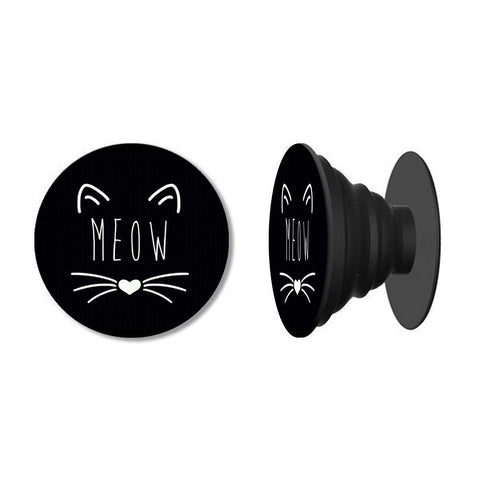 Meow Phone Grip with Mount