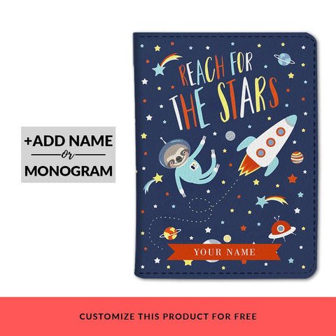 Reach For The Stars Custom Passport Cover