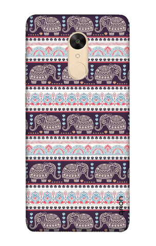 Elephant Pattern Xiaomi Redmi 5 Cases & Covers Online