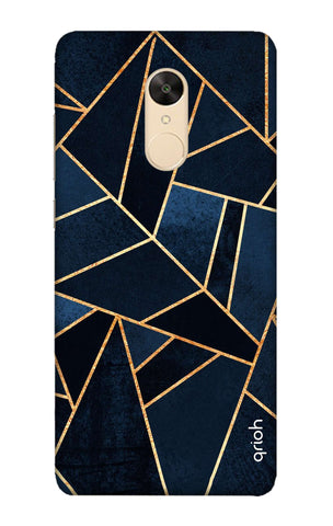 Abstract Navy Xiaomi Redmi 5 Cases & Covers Online
