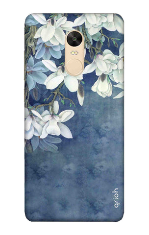 White Flower Xiaomi Redmi 5 Plus Cases & Covers Online