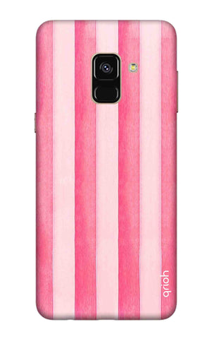 Painted Stripe Samsung A8 2018 Cases & Covers Online