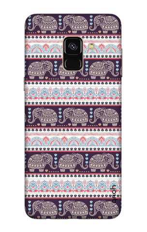 Elephant Pattern Samsung A8 2018 Cases & Covers Online