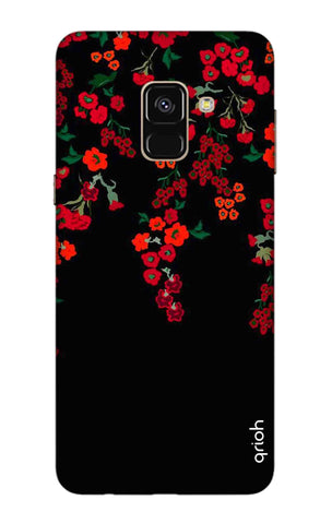 Floral Deco Samsung A8 2018 Cases & Covers Online