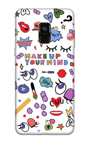 Makeup Your Mind Samsung A8 2018 Cases & Covers Online